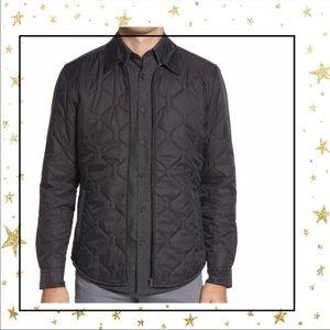 Hugo Boss Landolfo Black Quilted Shirt Jacket (C5)